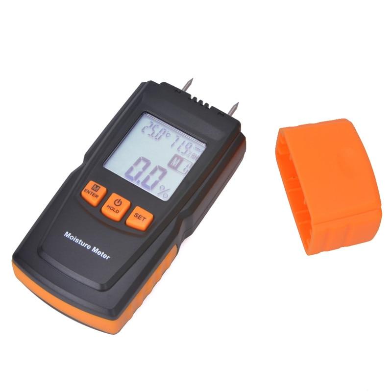 Analysatoren Offen Handheld Holzfeuchte-messgerät Gm610 Lcd-hintergrundbeleuchtung Gauge Luftfeuchtigkeit Tester Holz Damp Detector Bestellungen Sind Willkommen. Messung Und Analyse Instrumente