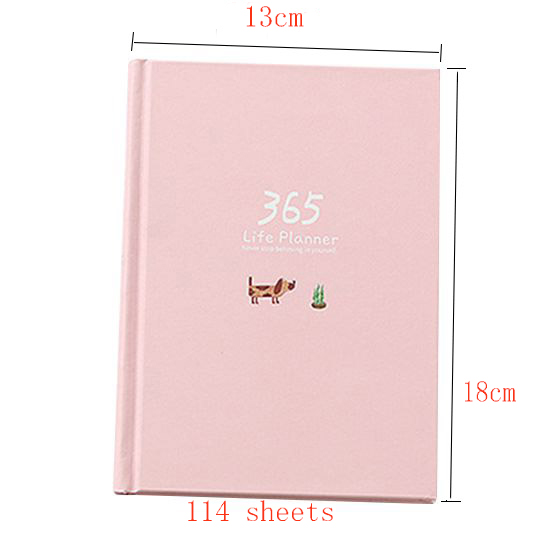 Creative Year Plan Notebook 365 Days Inner Page Monthly Daily Planner Diary Notebook шляпа bailey bailey mp002xw15kze page 3
