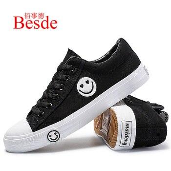 4e16de83 Zapatos de lona zapatos de hombre primavera zapatillas de deporte del dedo  del pie redondo de blanco de la moda zapatos de hombre zapatillas de deporte  ...