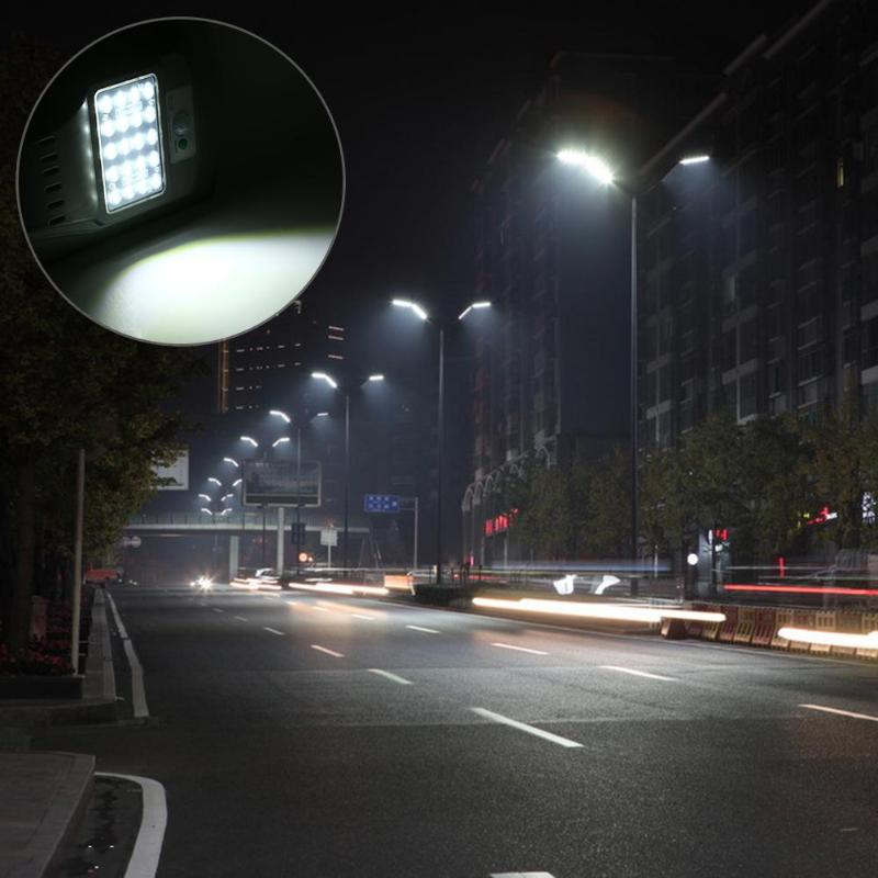 20W 20 LEDs Street Lights Road Lamp waterproof IP65 2835SMD Led chip Solar Power Outdoor Road street Wall Lamp