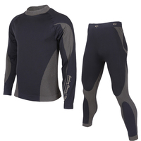 Codysale Winter Thermal Long Johns Underwear Sets For Men 2 Pieces Under Base Layers Sportswear Compression