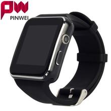 PINWEI PWX6 Изогнутый Экран Bluetooth Smart Watch Smartwatch Спортивные Часы Наручные Часы для Android Телефон Поддержка СИМ-Карты Камеры