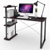 Lifewit Computer Desk PC Laptop Desk With Adjustable Bookshelf Large Study Writing Table With Bookcase Multi