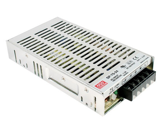 цена на Original MEAN WELL75W Single Output Switching Power Supply With PFC Function SP-75