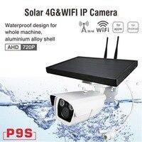 4 г 1080 P Солнечный Мощность Камера Беспроводной сети 1 Батарея Мощность ed IP Камера 3g GSM видеонаблюдения Wi Fi открытый слот sim карты