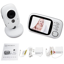 babykam cry baby cam detector fetal baby radio 3 2 inch LCD IR Night Vision Baby