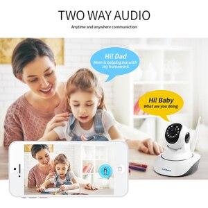 Image 3 - LOOSAFE caméra de Surveillance PTZ IP WIFI HD 2 mp/1080P, dispositif de sécurité sans fil, babyphone vidéo vidéo vidéo sans fil, cadeau P2P