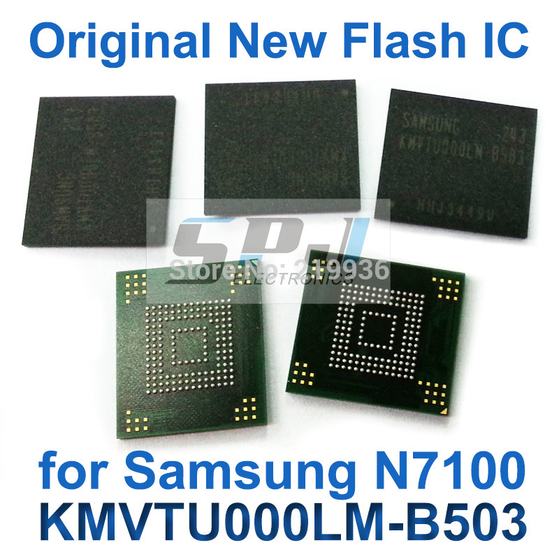 for Samsung note 2 N7100 flash memory eMMC IC Chip with