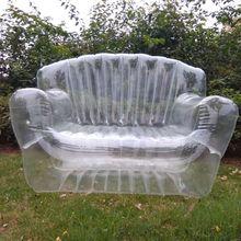 15%, двухместный надувной диван для гостиной, надувной шезлонг, складная королевская мебель, прочный диван/стул для внутреннего/наружного использования