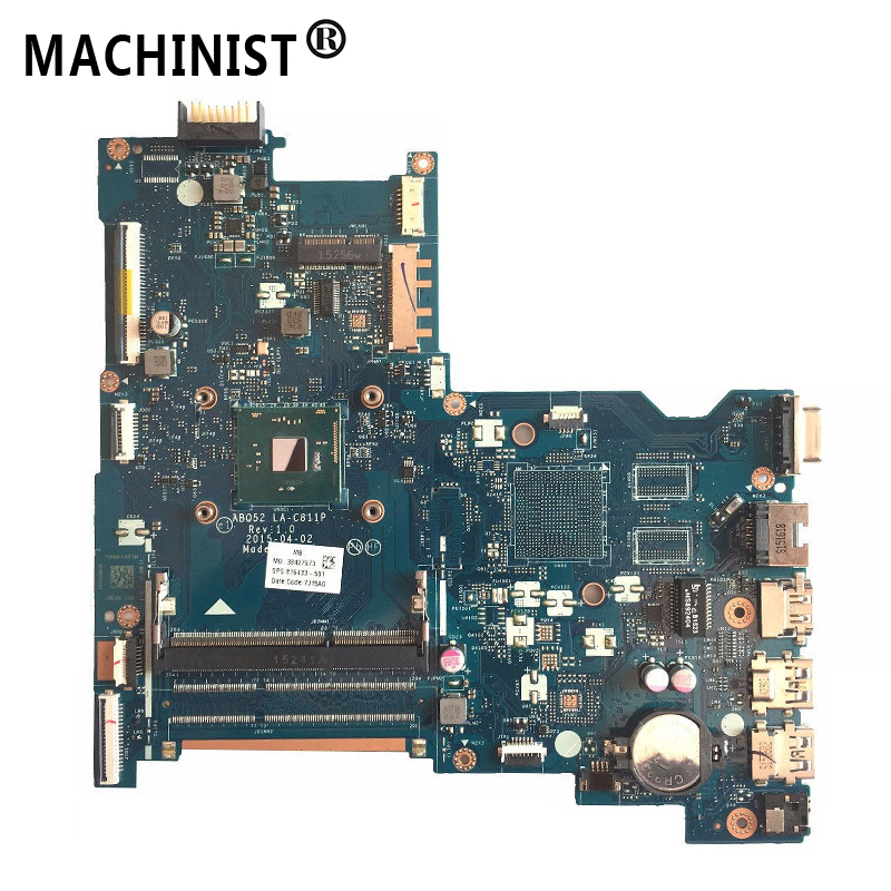 Original For HP pavilion 250 G4 15-AC laptop motherboard N3050 CPU DDR3 816433-501 816433-601 816433-001 ABQ52 LA-C811P