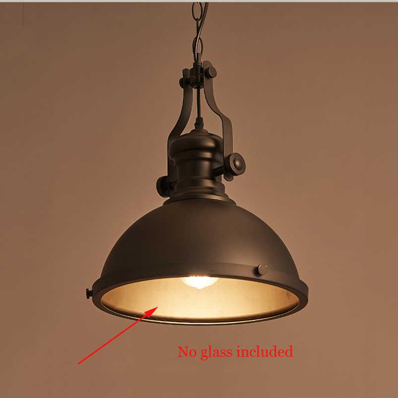 Ретро люстра для зала ресторан столовая Прихожая Коридор лампа для кафе Шахта лампа склад подвал подвесной светильник