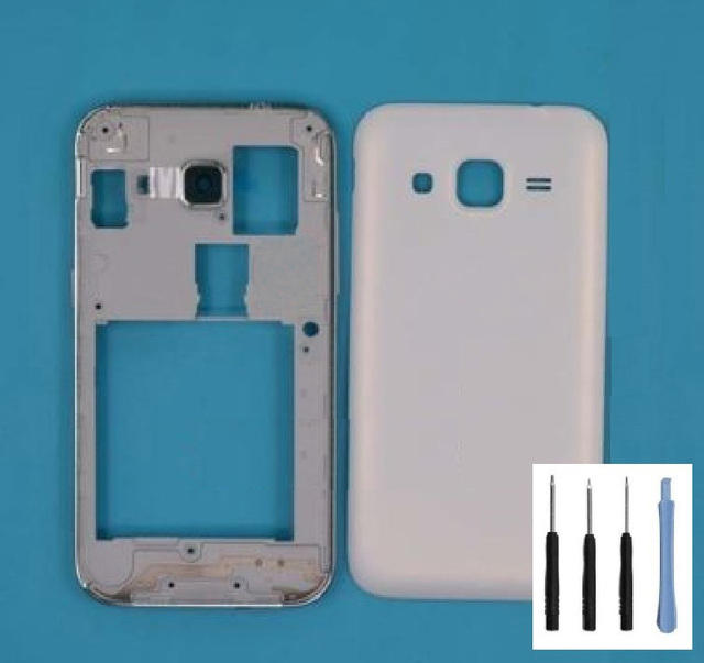 For Samsung Galaxy Core Prime G360 SM-G360F Full Housing Front Frame Chassis+Back Battery Cover Case /Single SIM