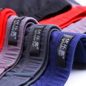 Image 3 - 4 ピース/ロット男性の通気性の綿パンツ男ソフト下着プラスサイズ L 、 XL 、 XXL 、 XXXL 男性ボクサーショーツセクシーなボクサー男性