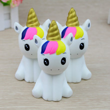 Squishy Sitting Unicorn Toy
