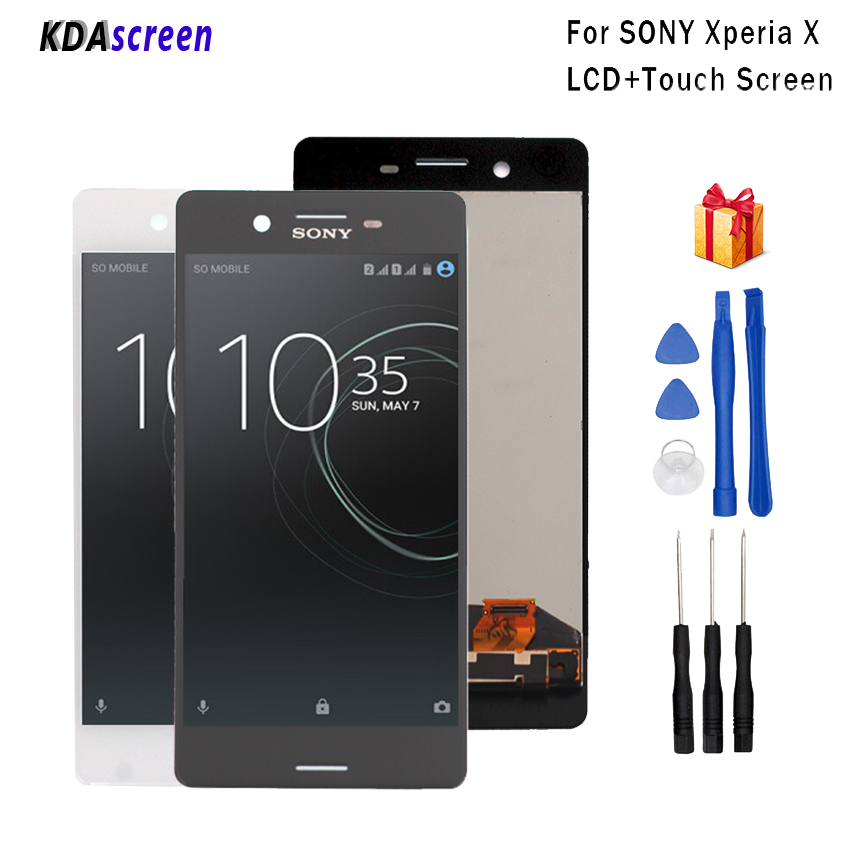 For <font><b>Sony</b></font> Xperia X LCD Display Digitizer Assembly For <font><b>Sony</b></font> Xperia X LCD F5121 Display Screen LCD Phone Parts Replacement Tools image