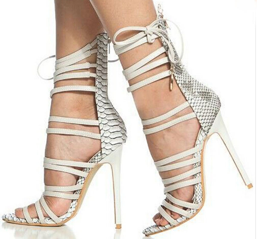2015 hot selling elegant strappy lace up gladiator sandals ...