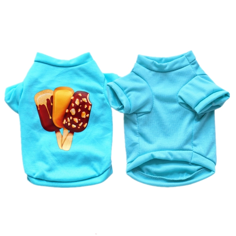 Cool Summer Dog Clothes for Small Dogs Pet Dog Shirt Puppy Clothing Spring Coat t shirts for Dogs Chihuahua Yorkshire Terrier 35
