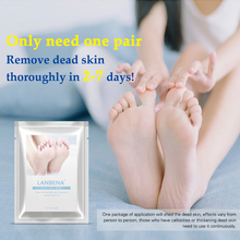 LANBENA Exfoliating Foot Peel Mask One Pair Remove Dead Skin HOT Thoroughly 2-7 Days Foot Mask Peeling Cuticles Heel