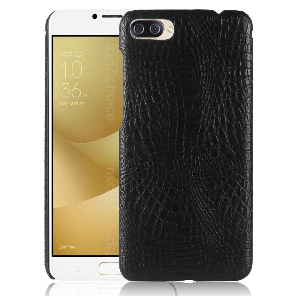 For Asus Zenfone 4 Max ZC520KL Case Crocodile Skin Hard Thin Back Cover Case For Asus ZC520KL Asus X00HD 5.2 inch Phone Bag Case
