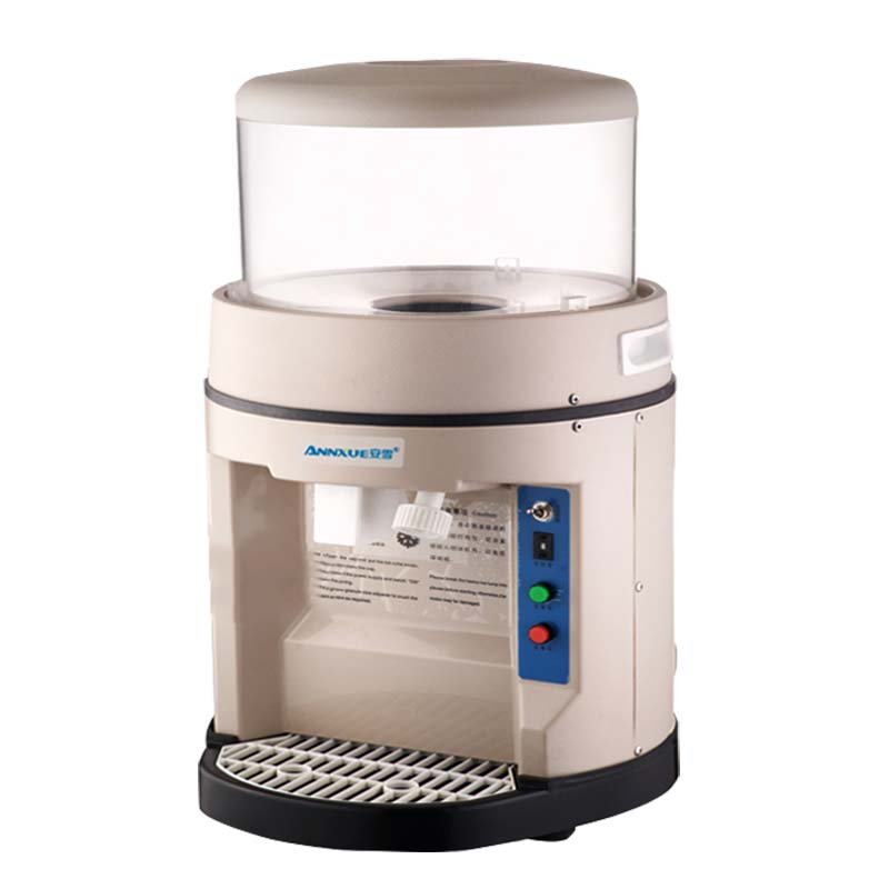 Commercial Automatic ice crusher high-power smoothies machine 300kg/h ice machine snow ice cream YM-580 hand driven ice crusher commercial and home use crushed ice machine zf