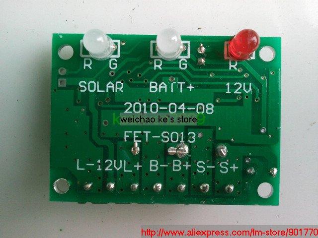 12v 3amp solar charge controller regulator solar panel input 15v-25v output 12v