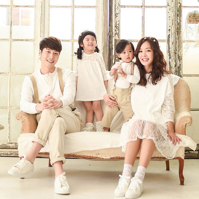 71f817c5 Daddy Father Son Shirts Family Matching Clothes Sets Mother Daughter  Dresses Mom and Daughter Girl Wedding Dress Party Pajamas