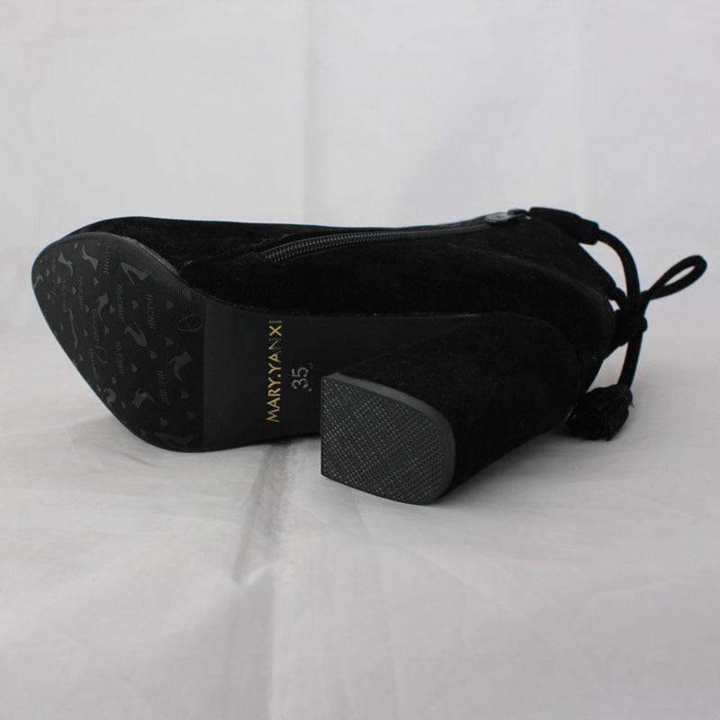 Ventas calientes zapatos de mujer de moda de borla con cordones - Zapatos de mujer - foto 6