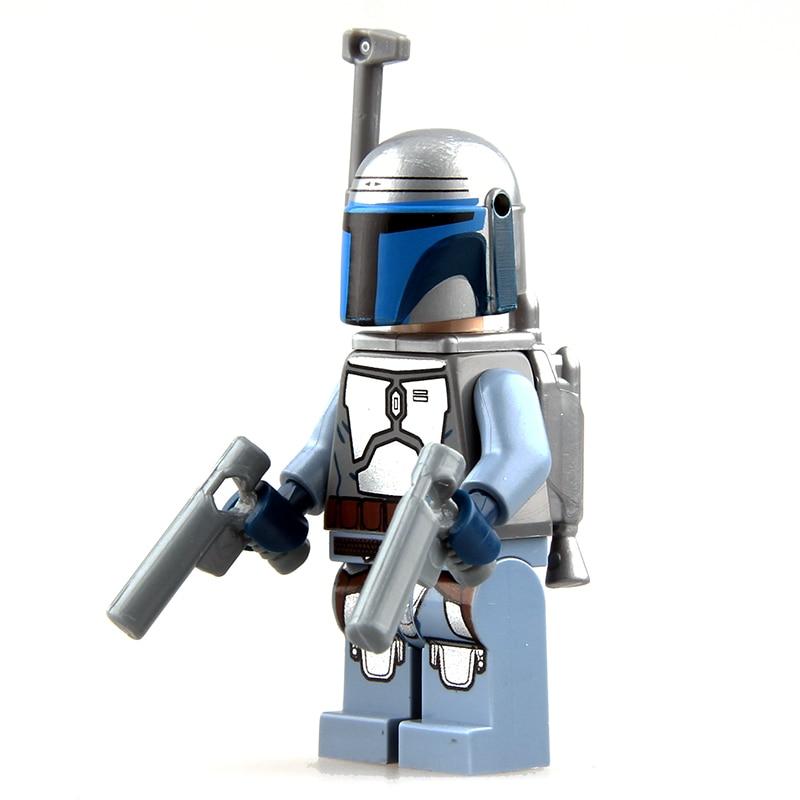 SW301 Lego Star Wars Mandalorian Custom Young Boba Fett Custom Minifigure NEW