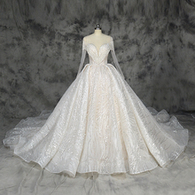 2019 新デザインブリンブリン夜会服のウェディングドレス高級シャンパンとアイボリーのウェディング factorycustom メイド卸売価格ブライダルドレス