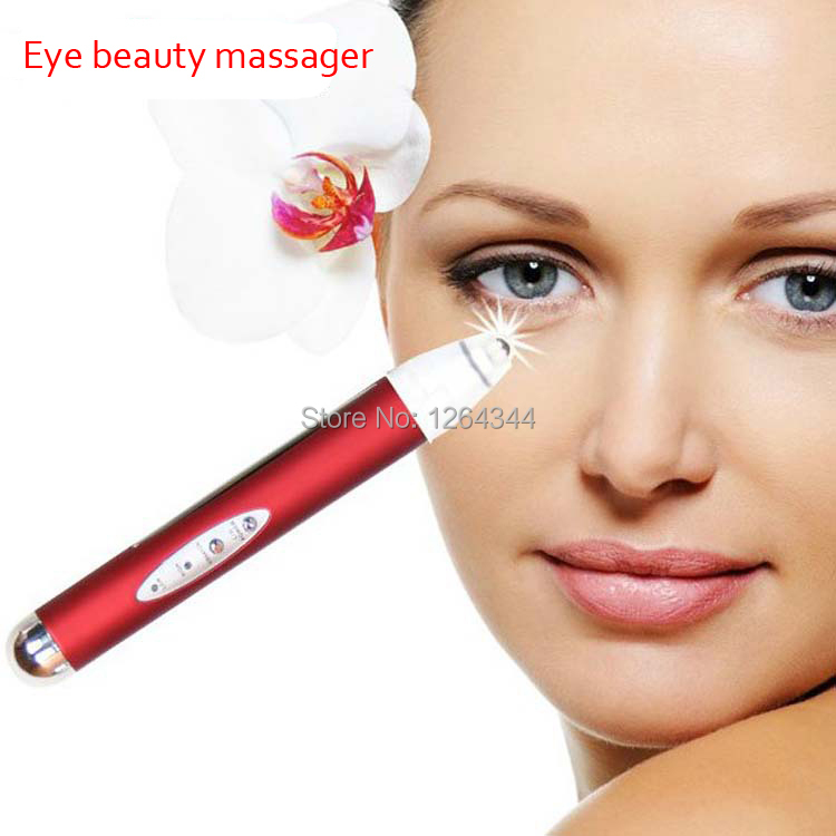Free shipping anti-aging anion eye wrinkle pouck fine line eraser massager pen skin lifting tightening beauty intruments traditional chinese herbal medicine 100g dried longan long yan rou dragon eye organic health food sweet anti aging free shipping