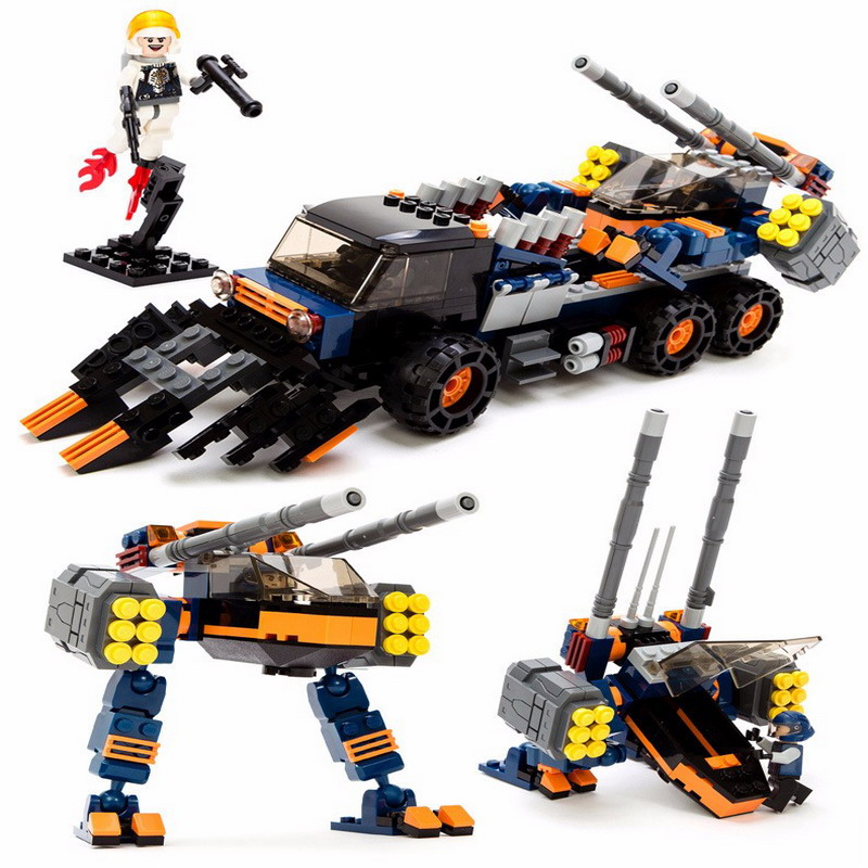 GUDI Star Wars Strike chariot Alien Space invasion Building Blocks Sets Bricks Model Kids Toys For Children Compatible Legoings kazi 608pcs pirates armada flagship building blocks brinquedos caribbean warship sets the black pearl compatible with bricks