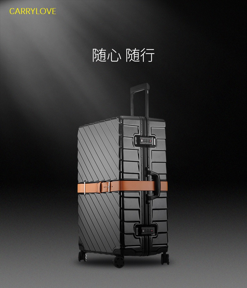CARRYLOVE Super fashion High quality, luxury 20/24/29 inch size PC Aluminum frame Rolling Luggage CARRYLOVE Super fashion High quality, luxury 20/24/29 inch size PC Aluminum frame Rolling Luggage