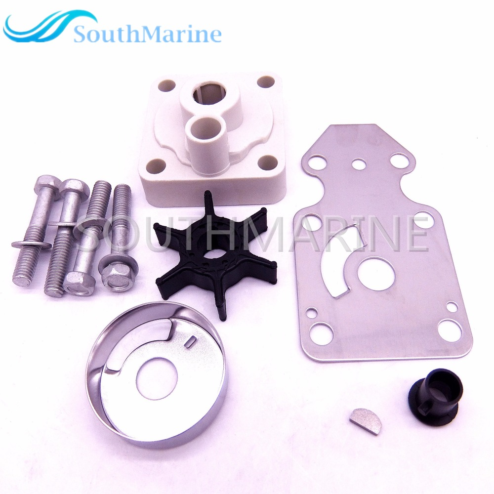 Water Pump Impeller Repair Kit 63V-W0078-00 for Yamaha F15 15hp 4-stroke Outboard Motors,Free Shipping