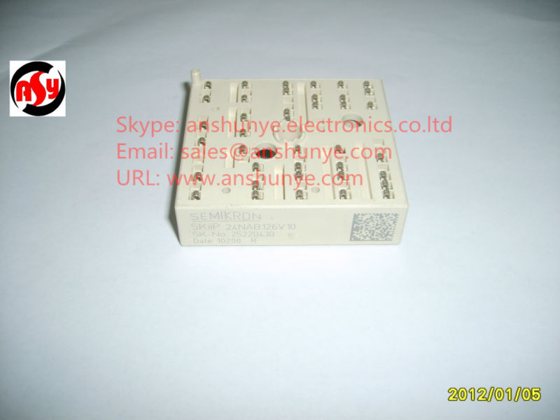 MODULE SKiiP24NAB126V10 skiip 13nab066v1 7 cell ipm power module