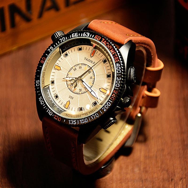 YAZOLE Mens Watches Top Brand Luxury Military Sport Watch Men Watch Luminous Mens Watch Clock saat relogio relojes hombre 2018