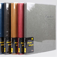 Self Adhesive Photo Album Red Blue Black Yellow Gray Colors Loose leaf PP Film 1 200 Photos Yearbook Picture Album Welding Gift
