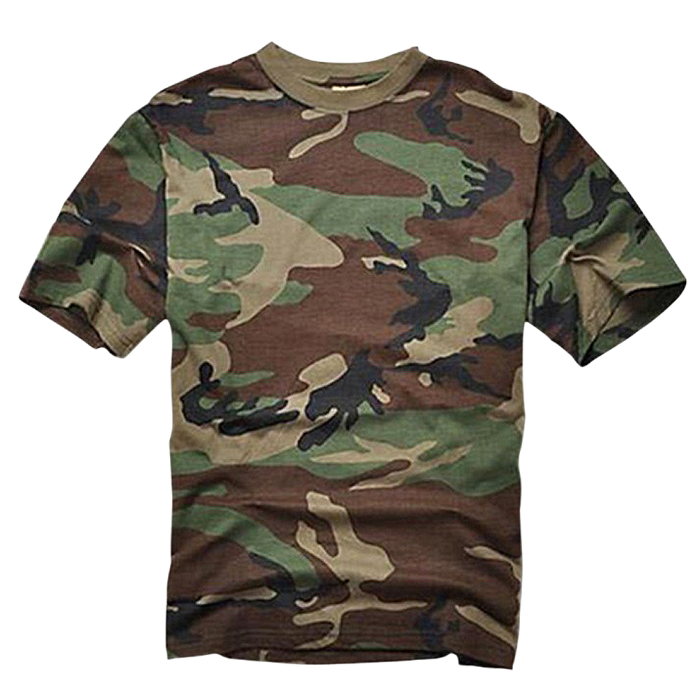 SZ-LGFM-Summer Outdoors Hunting T-shirt Men Breathable Army Tactical Combat T Shirt Military Dry Sport Camo Outdoor Camp Tees JG