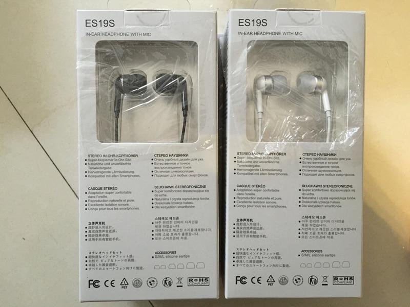 SoundMAGIC ES19S in ear HiFi earphones earbuds with microphone for all smartphones perfect sound earphones
