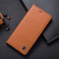 """Imán del tirón del cuero genuino de la vendimia del caso del soporte para lenovo vibe p2 5.5 """"cubierta del teléfono móvil de lujo"""