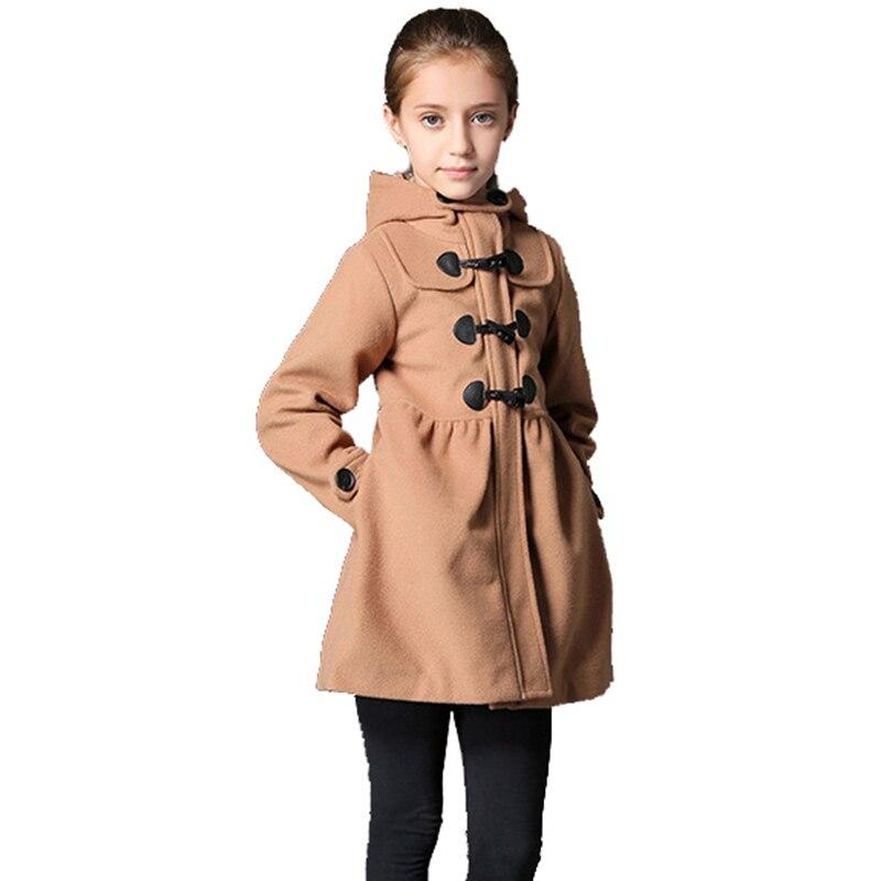 کاپشن بلند و پشمی دخترانه زمستانی BAYALI - لباس کودکان