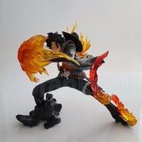 One Piece Action Figure Ace Fire Fist DIY Toy 160MM Anime One Piece Portgas D Ace Model Figurine DIY181
