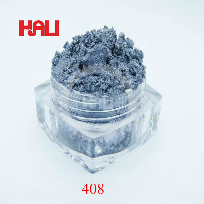 Acrylic Paints Pearl Pigment,pearlescent Pigment,pearl Powder,mica Pigment Powder For Nail,color:grey Blue,item:408,net Weight:20gram.