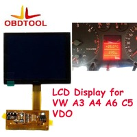 ObdTooL LCD Display For A3 A4 A6 C5 VW VDO For VDO LCD Cluster Dashboard Pixel