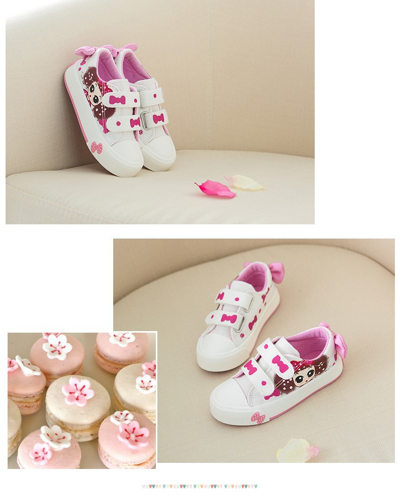 Canvas Children Shoes 17 New Baby Girls Princess Shoes Brand Kids Sneakers for Girls Denim Child Flat Toddler Shoes 10