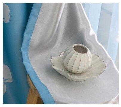 MYRU Tende Del Bambino di Alta Qualità, bambini A Buon Mercato Tende Oscuranti, Blu e Bianco Finestra Tende, Bambini Tende Camera Da Letto Nuvole