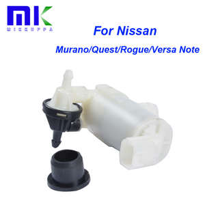 Washer Pump For Nissan Murano/Quest/Rogue/Versa Note Headlight Windshield Windscreen Wiper Washer Spray Car Windows 28920-CA000(China)