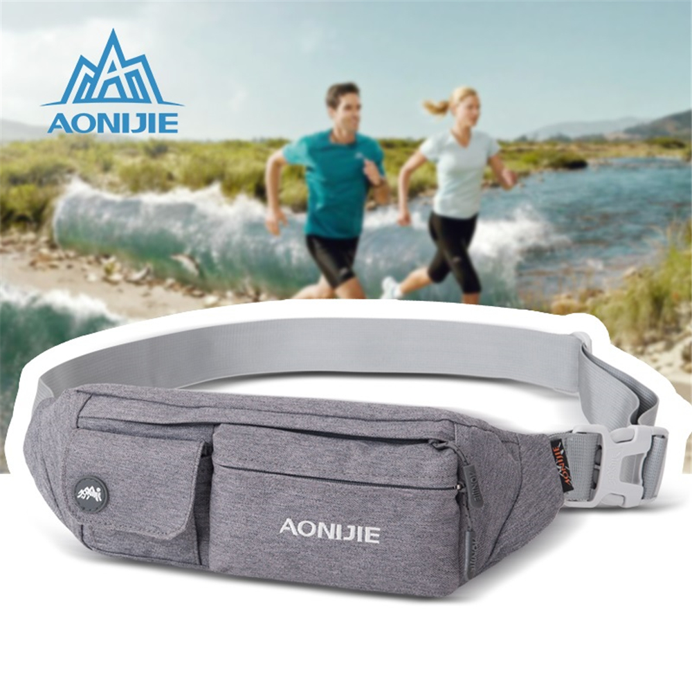 AONIJIE 2017 New Outdoor Sport Running Belt Waist Bag Multipurpose Waist Bags Portable Mini Money Fanny Pack ...