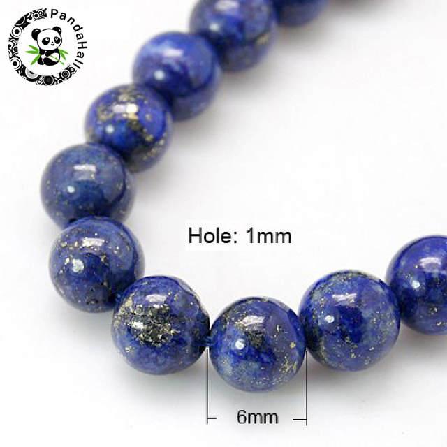 Lapis Lazuli 6.4x3.6mm Royal Blue Natural Lapis Lazuli Gemstone Beads Jewelry Making Supplies