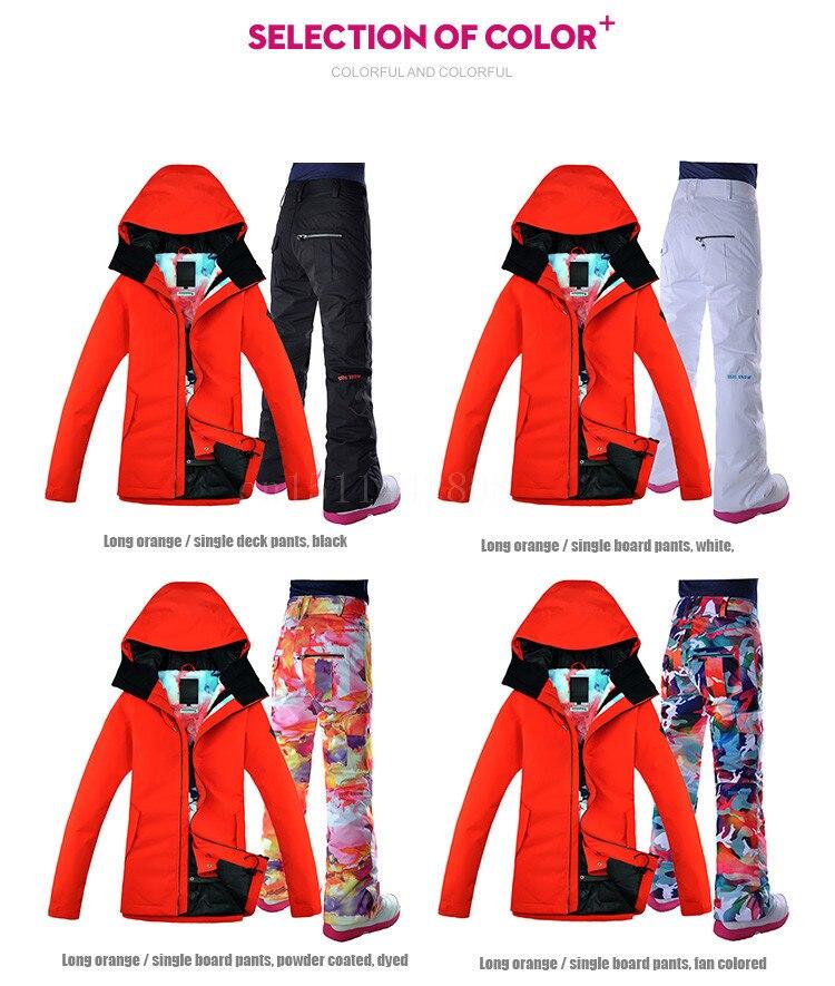 snow ski suit