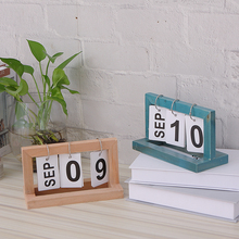 wood calendar wooden frame page turning calendar tableware home decoration полусапоги franco martini page 8 page 11